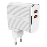 Bộ sạc nhanh QC3.0 LDNIO A2502Q kèm cáp Micro